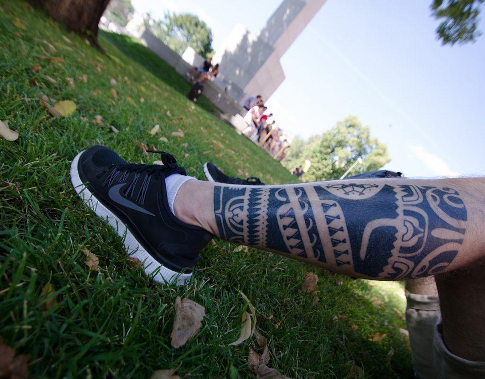 enlever un tatouage avant après
